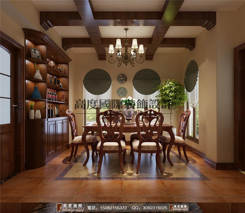 高度国际 成都装修 别墅装修 混搭风格 好的装修 餐厅图片来自成都高端别墅装修瑞瑞在310平米混搭风格---高度国际装饰的分享