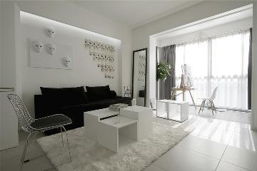 黑白配色极简风格