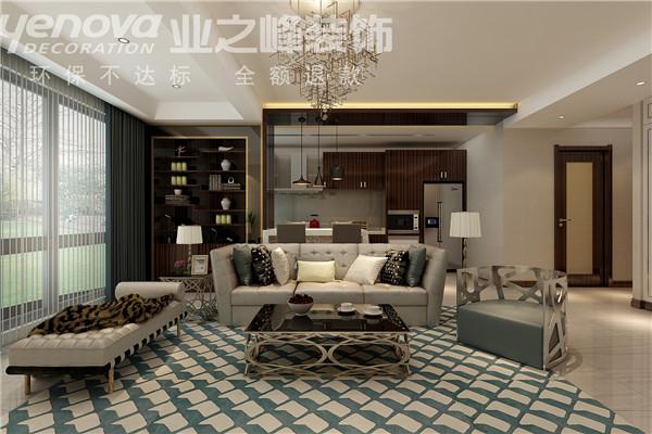 欧式 简约 三居 复式 业之峰 客厅图片来自业之峰太原分公司在晋煤悦城的分享