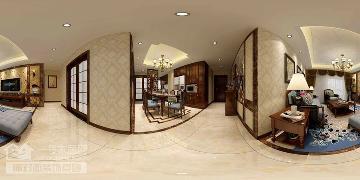 国际百纳129美式新古典装修案例