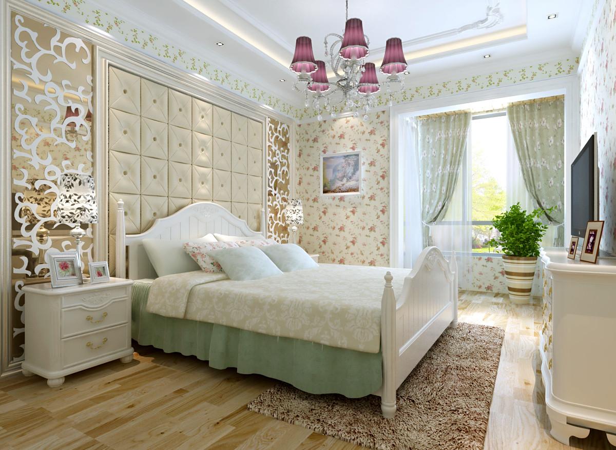 田园 二居 远洋沁山水 装修设计 卧室图片来自北京居然元洲装饰小尼在欧式田园 完美生活的分享