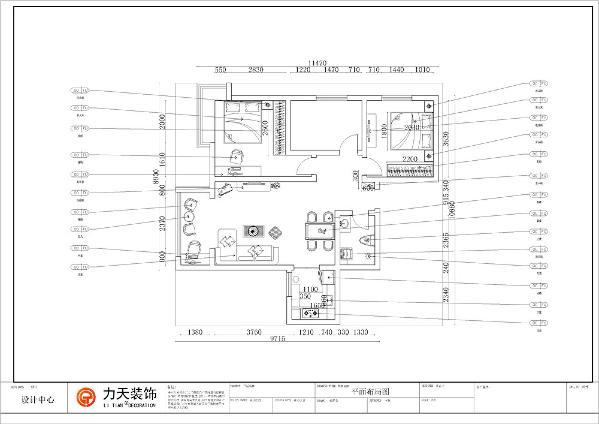 整个客餐厅空间通铺800*800的地砖,两个卧室铺的木地板,减少光的反射。总之,整个空间户型还算规整,没有什么大的改动。