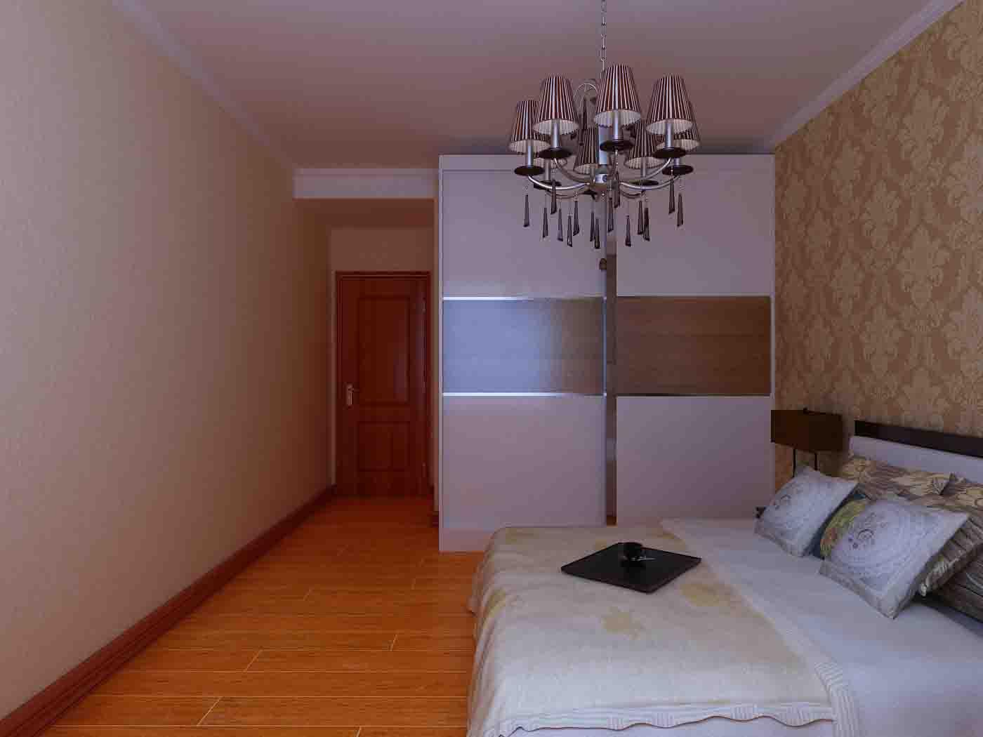 卧室图片来自石家庄装饰家美1在【案例赏析】长九中心简约中式的分享