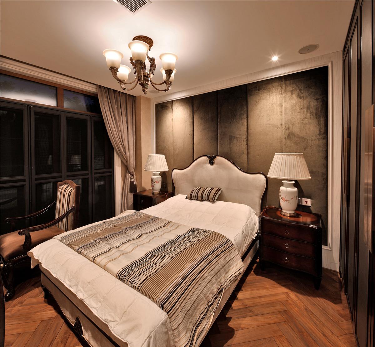 欧式 别墅 卧室图片来自名雕在水榭山欧式风格700平别墅装修的分享