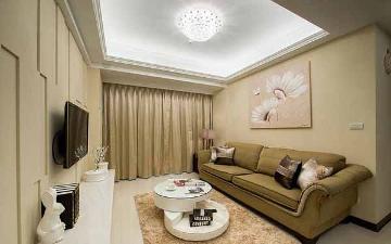 69平米混搭风格二居室装修样板间