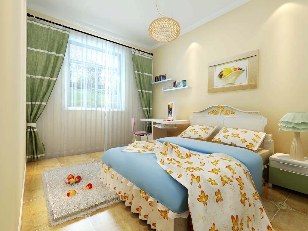 田园 三居 别墅装修 卧室图片来自北京居然元洲装饰小尼在139平米田园风格,小清新的分享