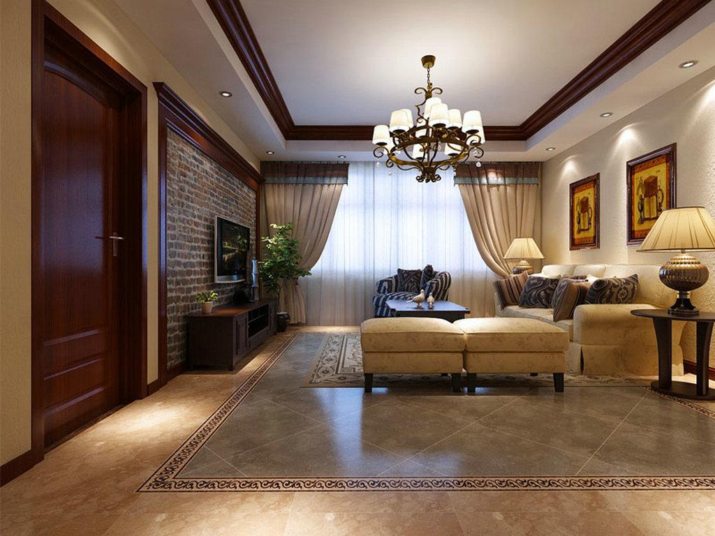 三居 东湖湾 装修设计 客厅图片来自业之峰装饰旗舰店在亲近大自然的分享