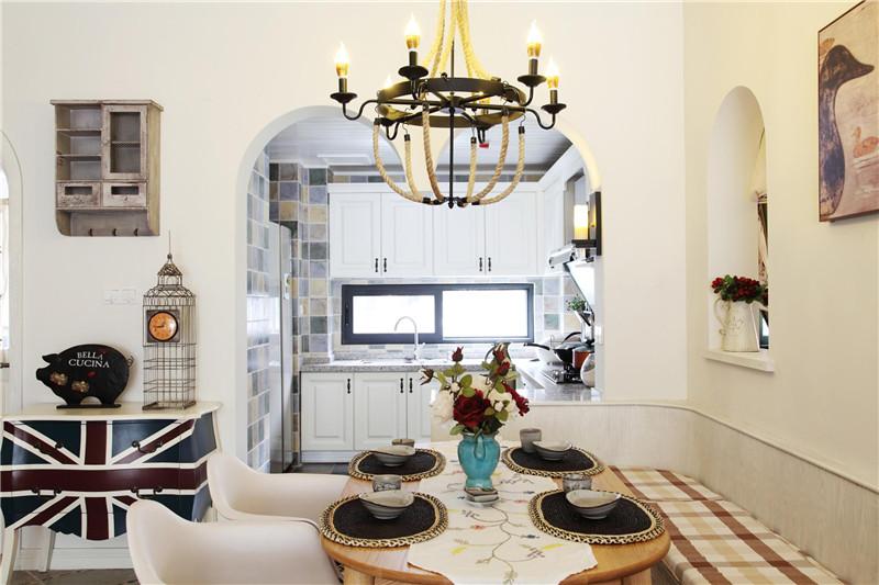 地中海 客厅图片来自四川幸福魔方装饰在戛纳湾金棕榈-地中海套三的分享