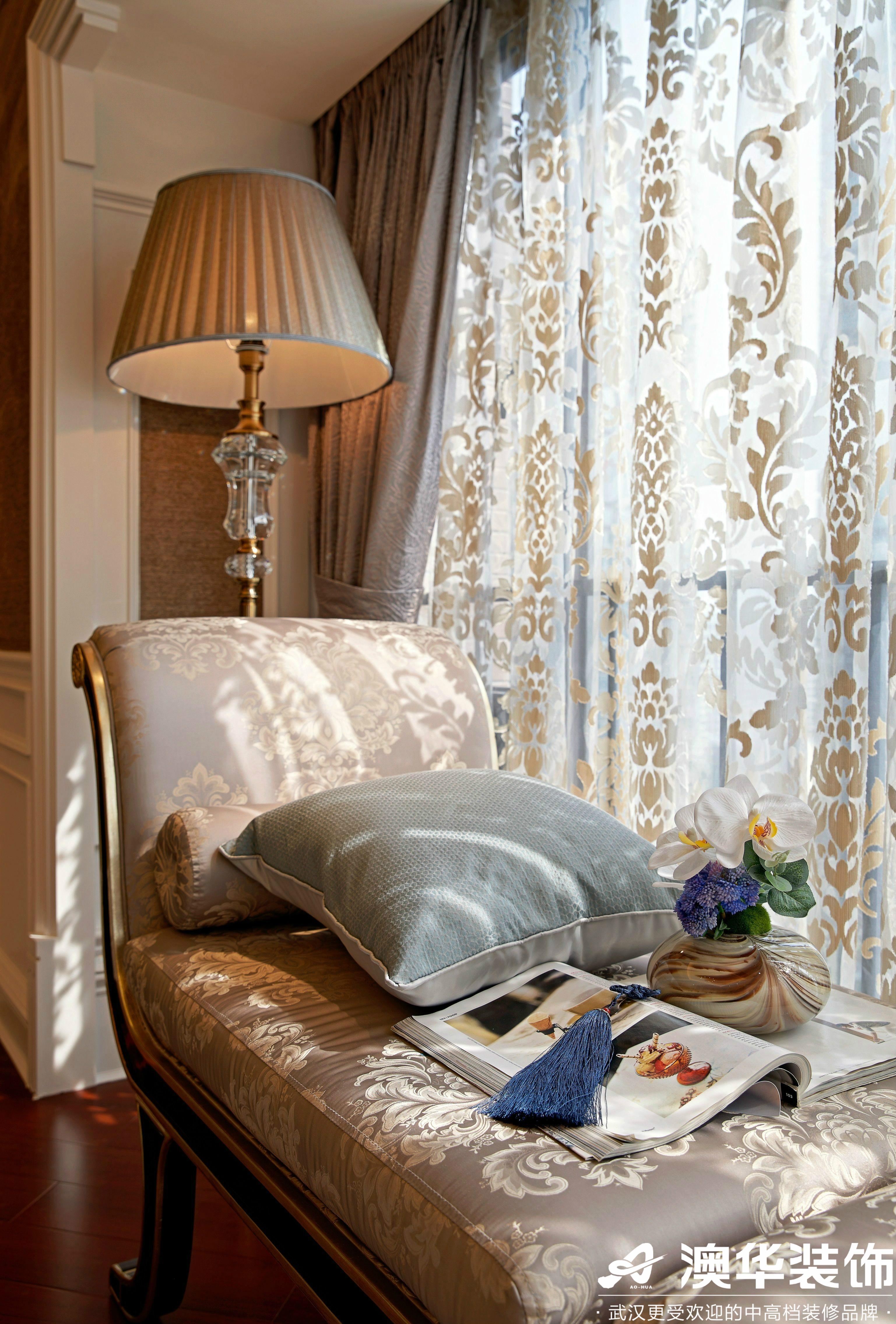 其他图片来自澳华装饰有限公司在中建福地星城新古典风格的分享