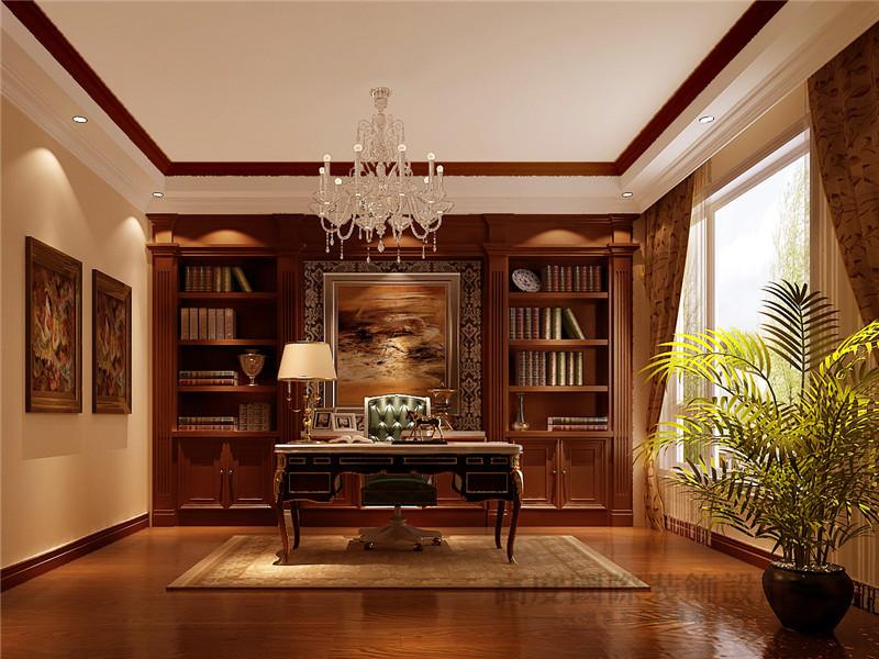 托斯卡纳 别墅 彼岸香醍 别墅装修 高度国际 书房图片来自沙漠雪雨在350平米乡村浪漫情怀大宅的分享