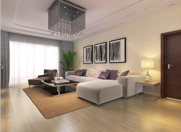 简约 现代 四居 客厅图片来自居然元洲装饰小杨在上林世家四居现代风格的分享
