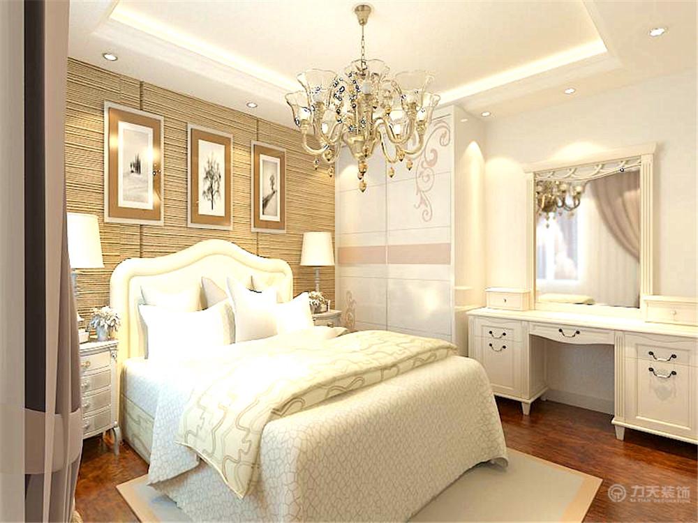 欧式 简约 二居 白领 收纳 80后 卧室图片来自阳光力天装饰在简欧风格   亿城堂庭  57㎡的分享