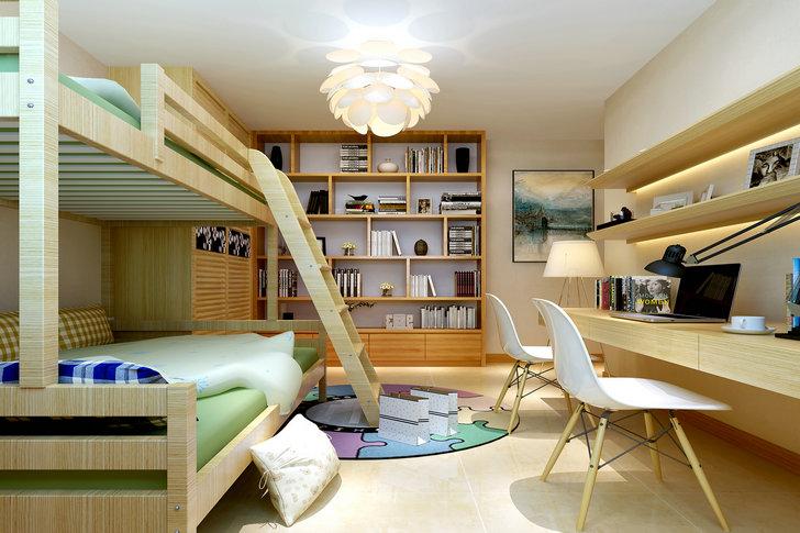三居 新古典风格 中铁国际城 装修设计 卧室图片来自业之峰装饰旗舰店在简单的爱-中铁国际城的分享