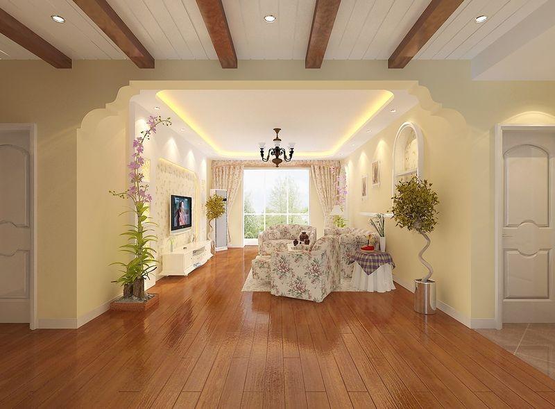 三居 田园 玉泉新城 装修设计 客厅图片来自北京居然元洲装饰小尼在田园风格,暖色调 品质三居室的分享