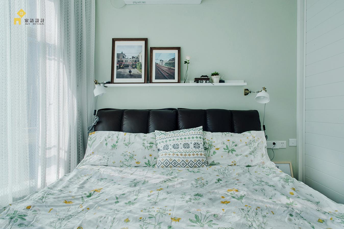 卧室图片来自家语设计张海妮工作室在半暖时光的分享