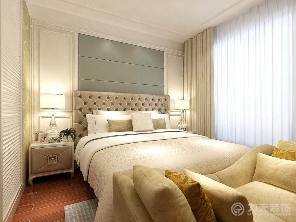 三居 欧式 保利玫瑰湾 白领 80后 卧室图片来自阳光放扉er在力天装饰-保利玫瑰湾143㎡的分享