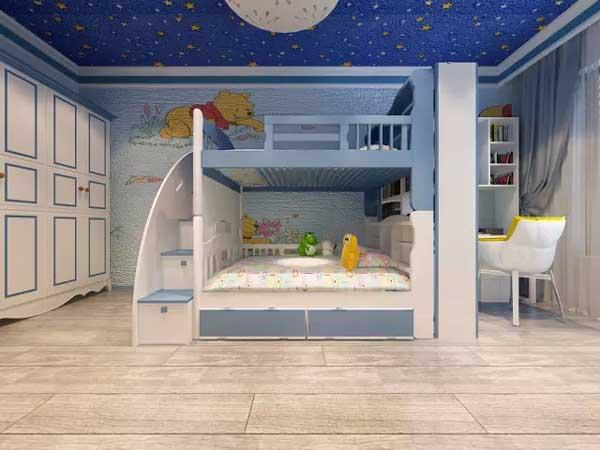 三居 小资 儿童房图片来自上海潮心装潢设计有限公司在锦桂苑115平地中海风格房子装修的分享
