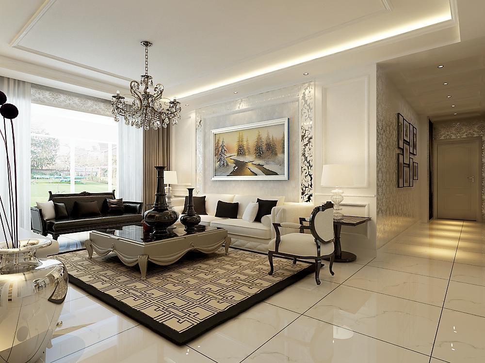 客厅图片来自北京居然元洲装饰小尼在简欧风格,高贵大气就这么简单的分享