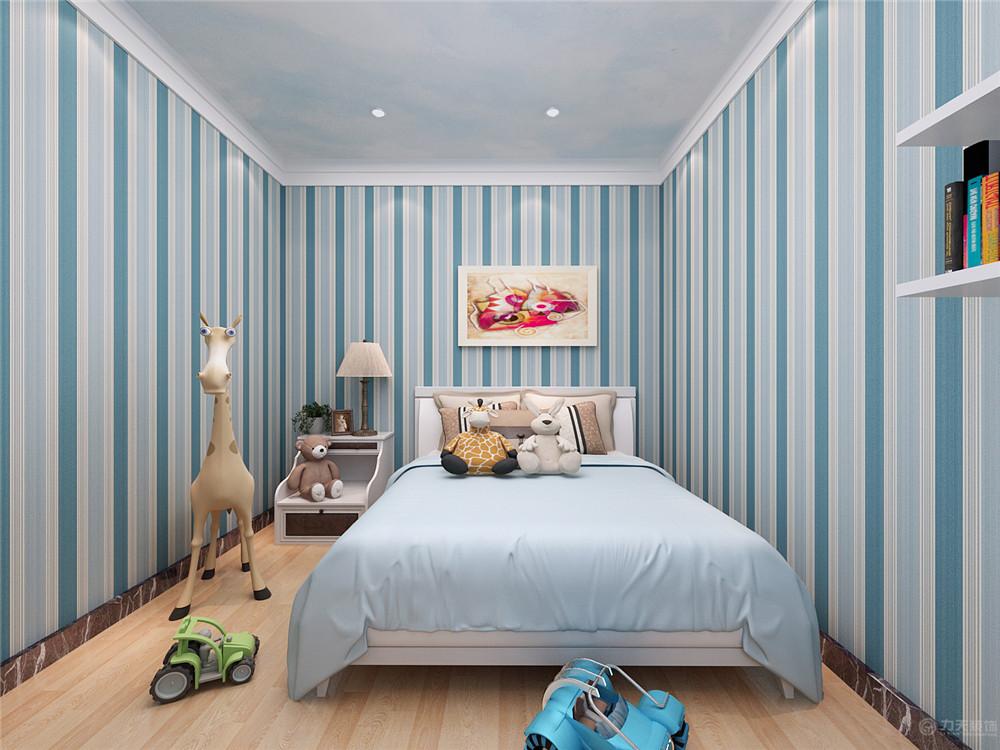 简约 现代 二居 收纳 80后 儿童房图片来自阳光力天装饰在现代简约   首创城  91㎡的分享