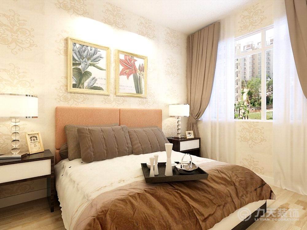 简约 二居 收纳 80后 卧室图片来自阳光放扉er在力天装饰-桂荷园94㎡的分享