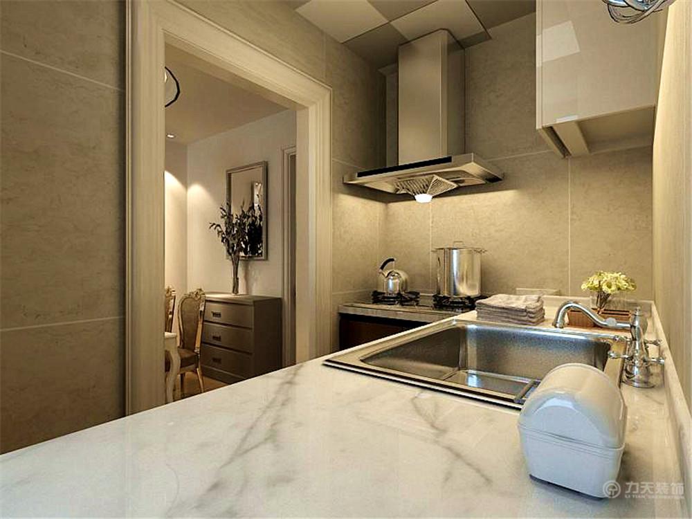 欧式 简约 二居 白领 收纳 80后 厨房图片来自阳光力天装饰在简欧风格   亿城堂庭  57㎡的分享