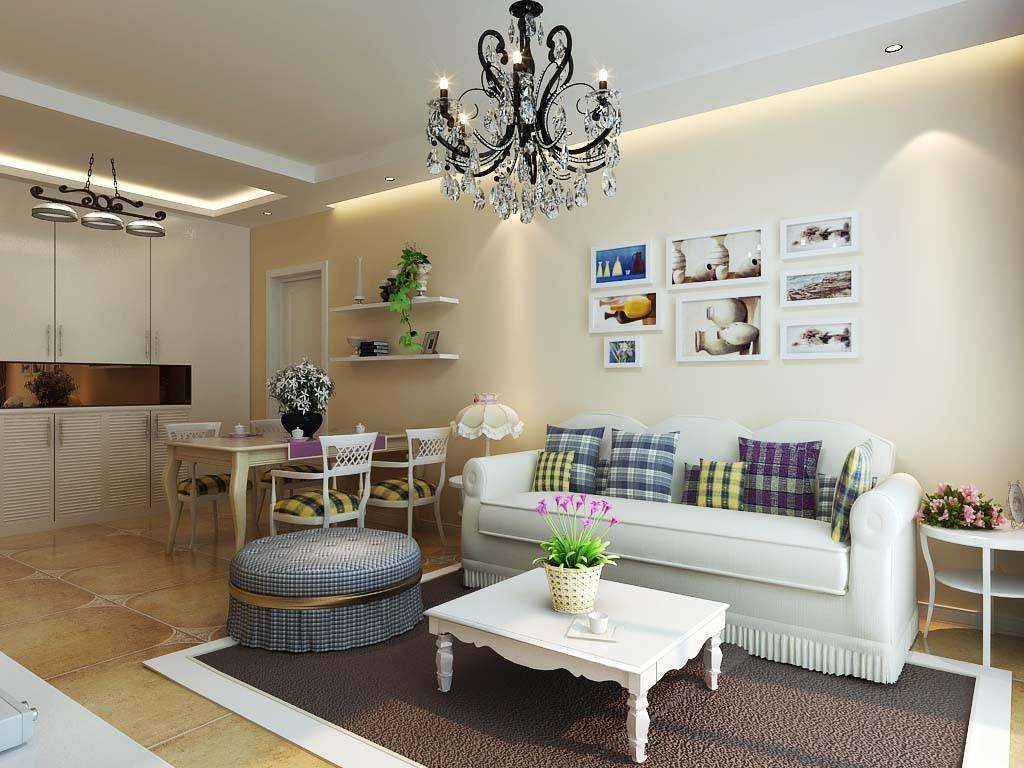田园 三居 别墅装修 客厅图片来自北京居然元洲装饰小尼在139平米田园风格,小清新的分享