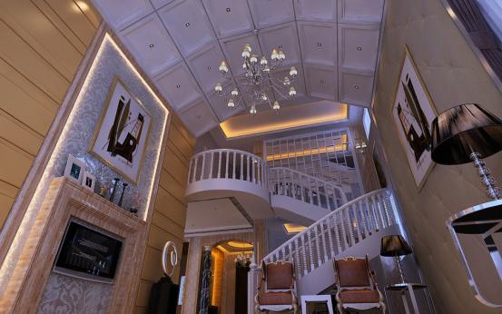 楼梯图片来自JingYiPrize人居空间设计大赛在朱瑞-保利十二橡树的分享