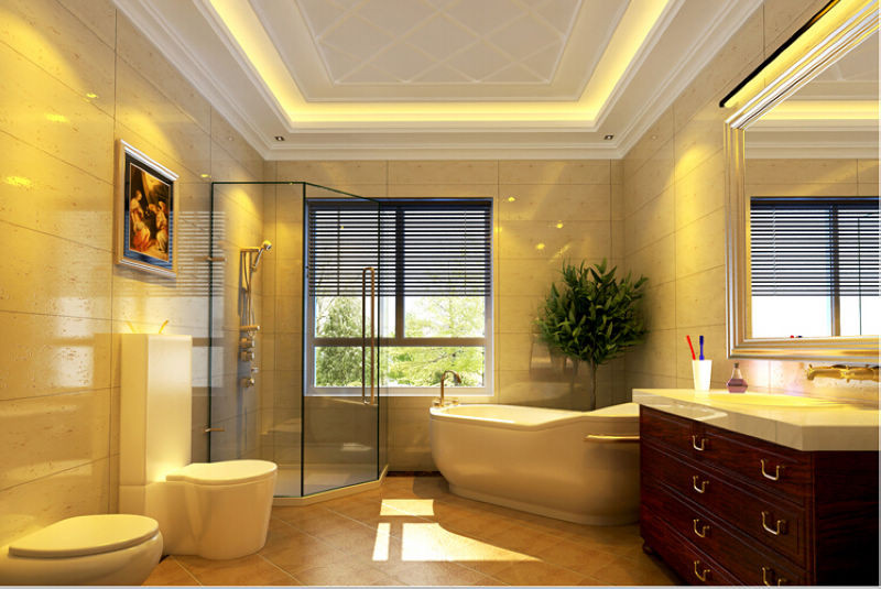 欧式 四局 西山华府 装修设计 卫生间图片来自北京居然元洲装饰小尼在西山华府欧式风格 ,贵气居室的分享