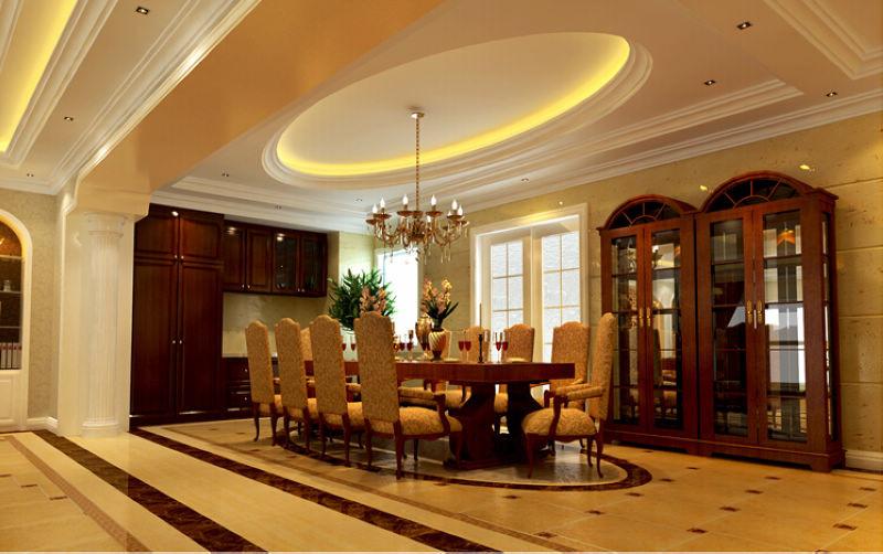 欧式 四局 西山华府 装修设计 餐厅图片来自北京居然元洲装饰小尼在西山华府欧式风格 ,贵气居室的分享