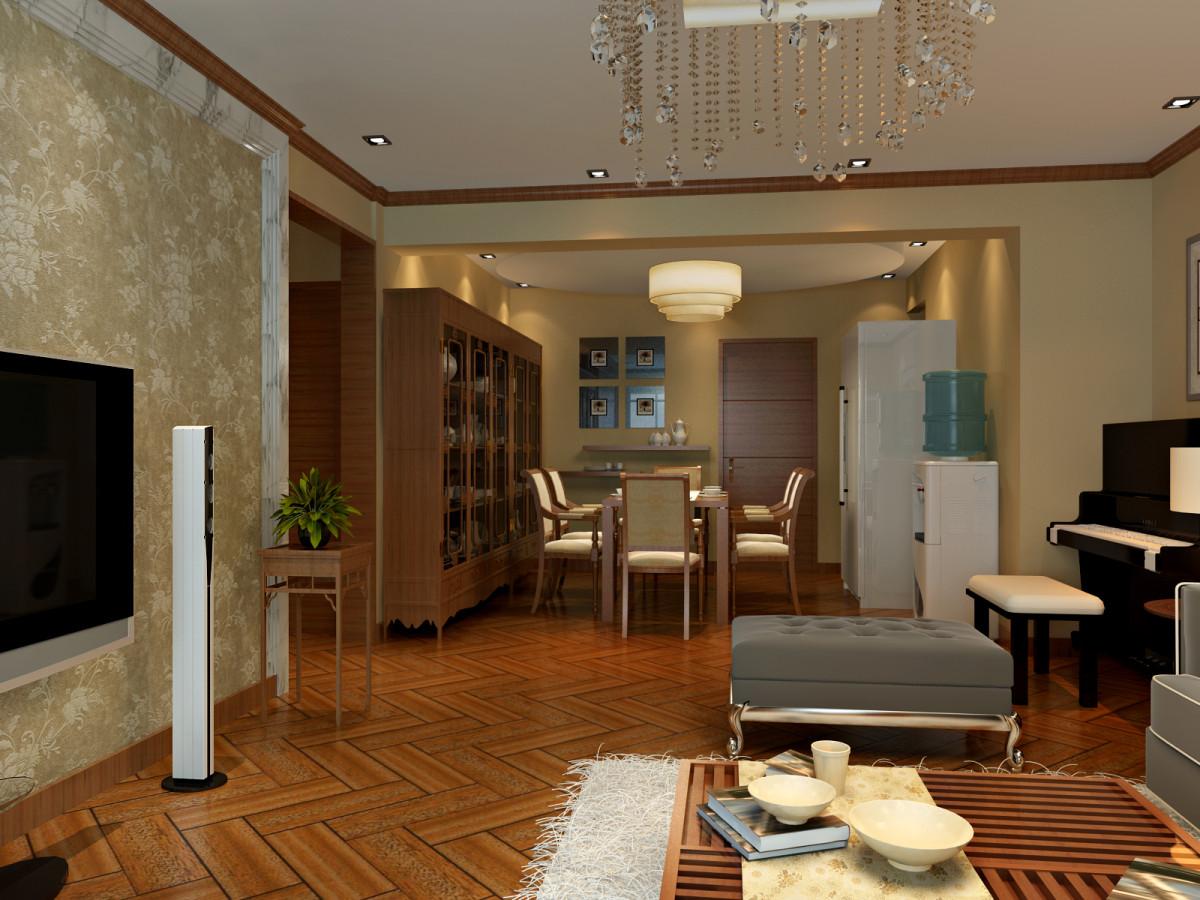 客厅图片来自北京居然元洲装饰小尼在万泉新新家园现代中式风格的分享