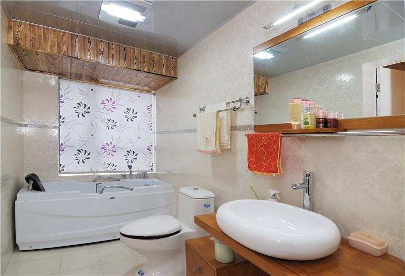 现代简约 卫生间图片来自四川幸福魔方装饰在戛纳湾金棕榈-现代简约的分享