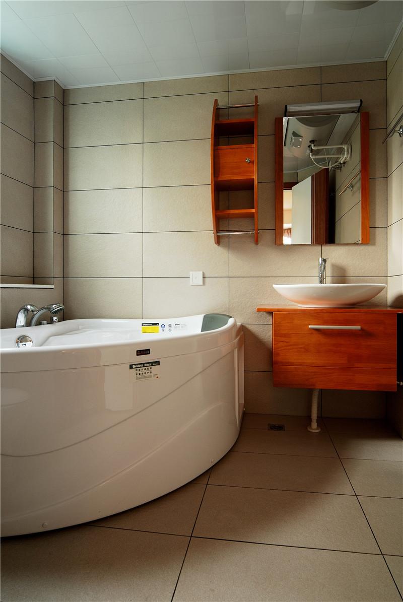 卫生间图片来自四川幸福魔方装饰在中德英伦联邦-田园风格-四居室的分享