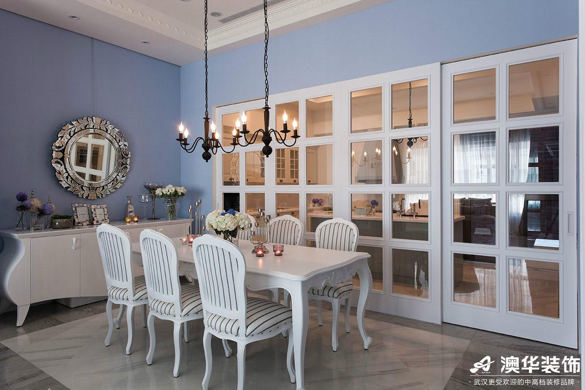 简约 餐厅图片来自澳华装饰有限公司在清江山水新古典风格的分享