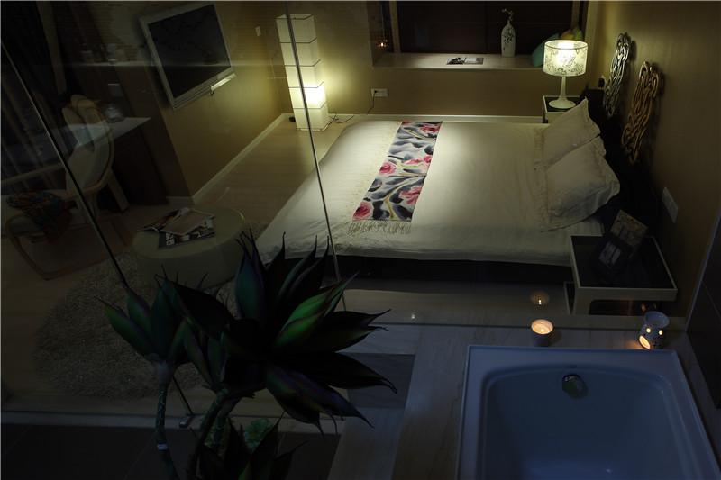 新现代 卧室图片来自四川幸福魔方装饰在正成东区1号-现代风格-四居室的分享