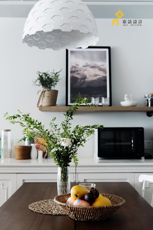 餐厅图片来自家语设计张海妮工作室在半暖时光的分享