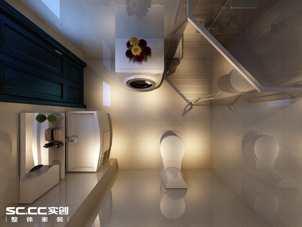 二居 欧式 卫生间图片来自哈尔滨实创装饰阿娇在星光耀120平LOFT户型简欧风格的分享