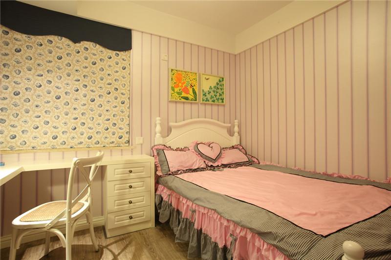 欧式 卧室图片来自四川幸福魔方装饰在桐梓林壹号-欧美风情的分享