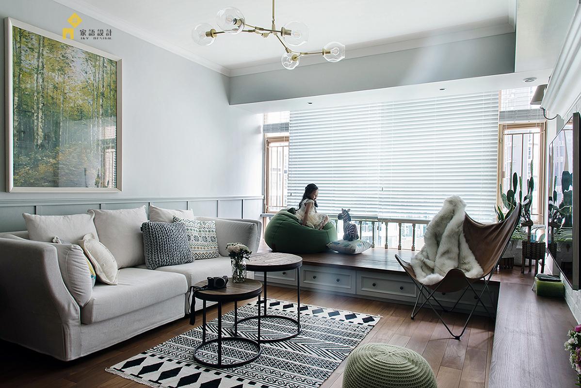 客厅图片来自家语设计张海妮工作室在半暖时光的分享