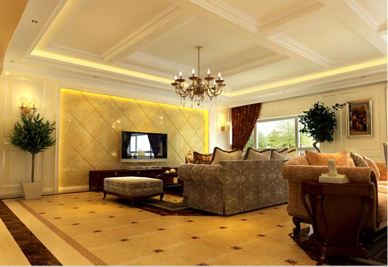 欧式 四局 西山华府 装修设计 客厅图片来自北京居然元洲装饰小尼在西山华府欧式风格 ,贵气居室的分享