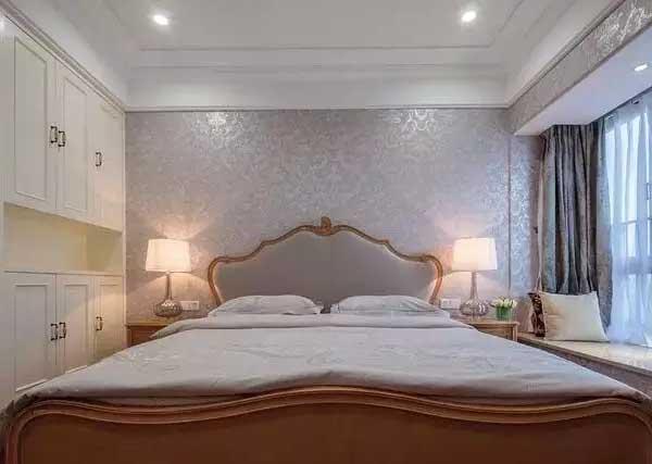 白领 卧室图片来自上海潮心装潢设计有限公司在华亭公寓135平美式乡村风格样间的分享