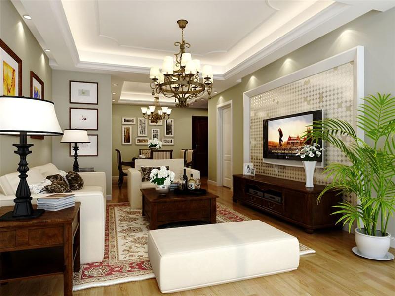 客厅图片来自四川幸福魔方装饰在金茂悦龙山-现代中式的分享