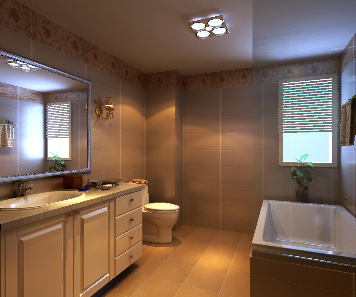 别墅 卫生间图片来自北京居然元洲装饰小尼在华贸城205平简约时尚大居室的分享