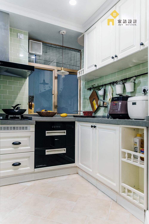 厨房图片来自家语设计张海妮工作室在半暖时光的分享