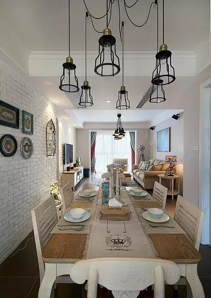 简约 欧式 田园 混搭 二居 三居 别墅 白领 旧房改造 餐厅图片来自实创装饰晶晶在05平小三房装修太美了的分享