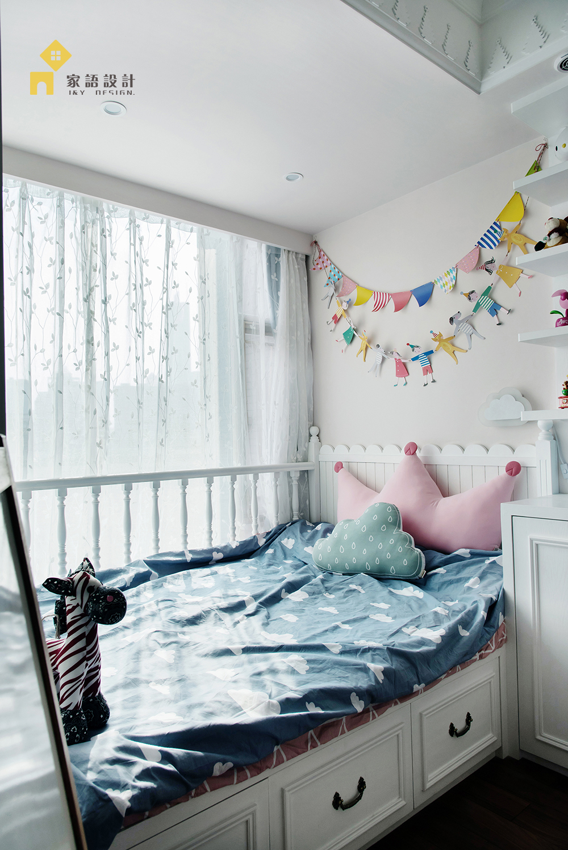儿童房图片来自家语设计张海妮工作室在半暖时光的分享