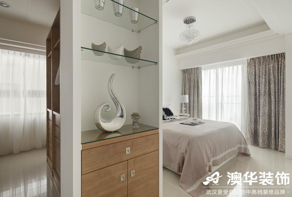 简约 卧室图片来自澳华装饰有限公司在福星惠誉东湖城新古典风格的分享