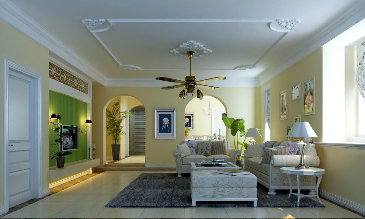 别墅 客厅图片来自北京居然元洲装饰小尼在350平地中海,不一样的视觉体验的分享
