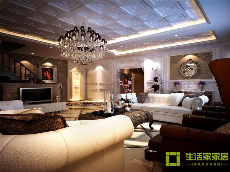 欧式 小资 白领 生活家 生活家家居 客厅图片来自天津生活家健康整体家装在融创中心183的分享