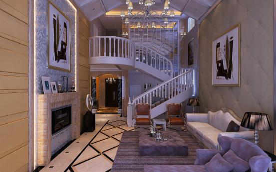 客厅图片来自JingYiPrize人居空间设计大赛在朱瑞-保利十二橡树的分享