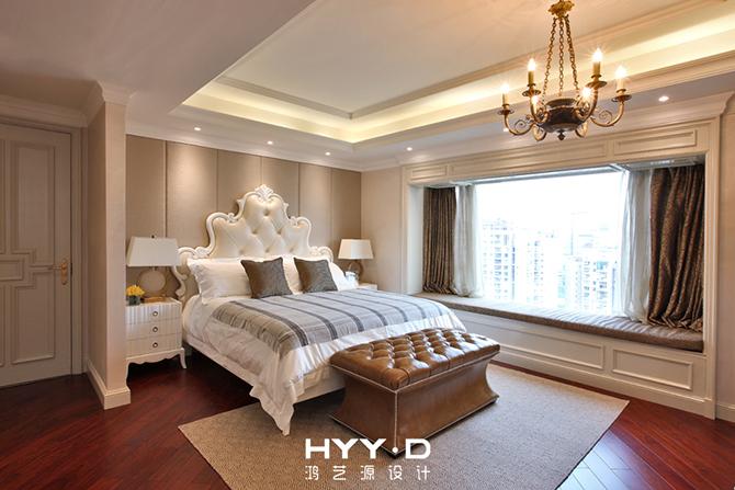 欧式 三居 简约 别墅 软装设计 卧室图片来自郑鸿设计师在琳琅雅域--深圳黄埔雅苑室内设计的分享